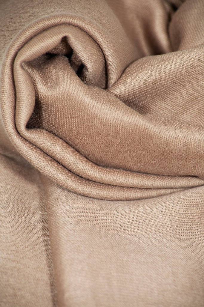 Soft Cotton Headscarf - Beige