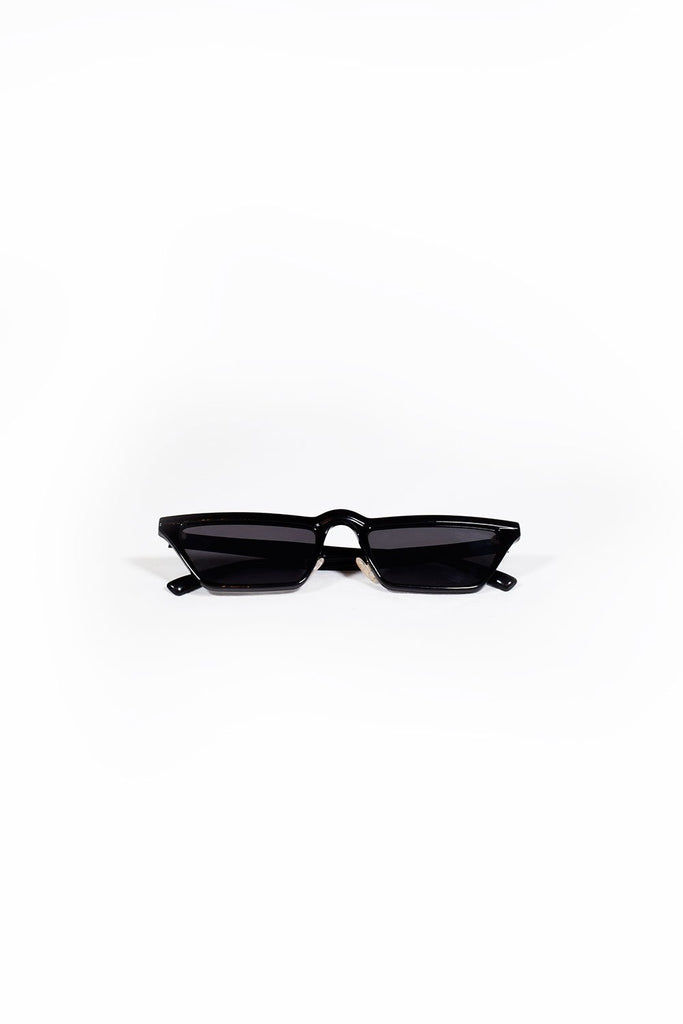 Slimline Knight Rider Sunglasses - Black