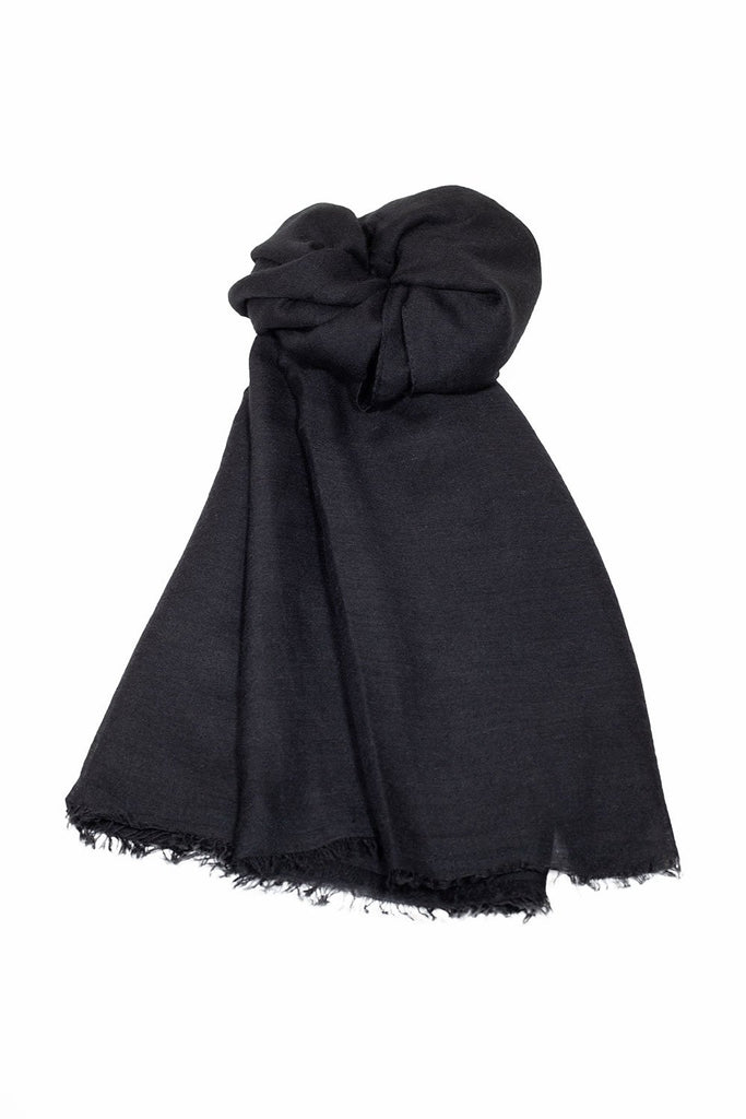Soft Cotton Headscarf - Black