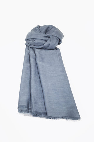 Soft Cotton Headscarf - Grey