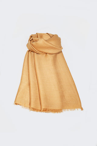 Soft Cotton Headscarf - Gold