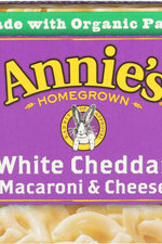 ANNIES HOMEGROWN: Pasta Cup White Cheddar 2pk, 4.02 oz