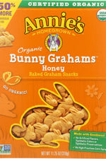 ANNIES HOMEGROWN: Honey Bunny Big Box Organic, 11.25 oz