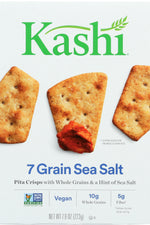 KASHI: Pita Crisps Original 7 Grain with Sea Salt, 7.9 oz