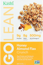 KASHI: Go Lean Crunch! Honey Almond Flax Cereal, 14 oz