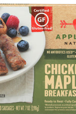 APPLEGATE NATURALS: Chicken and Maple Breakfast Sausage, 7 oz