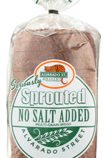 ALVARADO STREET BAKERY: Bread Sprouted Multi-Grain No Salt, 24 oz