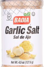 BADIA: Garlic Salt, 4.5 Oz