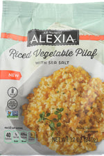 ALEXIA: Riced Vegetable Pilaf, 12 oz