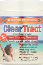 CLEARTRACT: Urinary Tract Formula Powder 50g, 1.76 oz