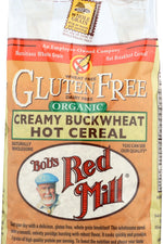 BOBS RED MILL: Organic Creamy Buckwheat Hot Cereal, 18 oz