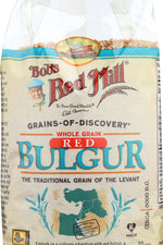 BOBS RED MILL: Whole Grain Red Bulgur, 28 oz