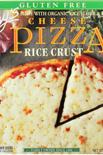 AMY'S: Gluten Free Pizza Rice Crust Cheese, 12 oz