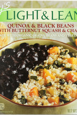 AMYS: Light and Lean Quinoa and Black Beans, 8 oz