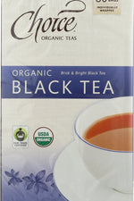 CHOICE TEA: Organic Black Tea, 80 bg