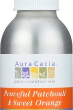 AURA CACIA: Peaceful Patchouli & Sweet Orange Room & Body Mist, 4 oz