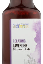 AURA CACIA: Relaxing Lavender Shower Salt, 16 oz