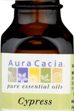 AURA CACIA: 100% Pure Essential Oil Cypress, 0.5 Oz