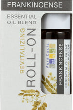 AURA CACIA: Oil Essential Roll-on Frankincense 0.31 oz