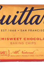 GUITTARD: Real Semi Sweet Chocolate Chips, 12 oz