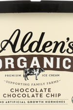 ALDEN'S ORGANIC: Ice Cream  Chocolate Chocolate Chip , 48 oz