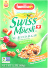 FAMILIA: Swiss Muesli Cereal No Sugar Added, 32 oz