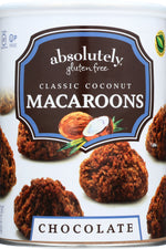 ABSOLUTELY GLUTEN FREE: Macaroon Coconut With Chocolate, 10 oz