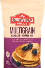 ARROWHEAD MILLS: Multigrain Pancake and Waffle Mix, 26 oz