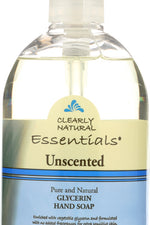 CLEARLY NATURAL: Unscented Glycerine Hand Soap Liquid, 12 oz