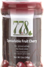 778 PRESERVES: Cherry Preserves, 12 oz