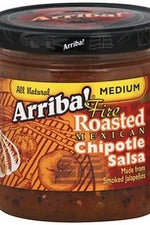 ARRIBA: Fire Roasted Mexican Chipotle Salsa Medium, 16 Oz