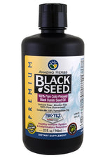 AMAZING HERBS: Oil Black Seed Premium, 32 oz