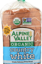 ALPINE VALLEY: Country White Bread, 18 oz