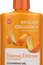 AVALON ORGANICS: Intense Defense Vitamin C Renewal Refreshing Cleansing Gel, 8.5 oz