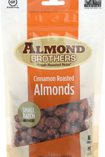 ALMOND BROTHERS: Almonds-Whole Cinnamon, 6 oz
