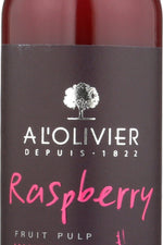 A LOLIVIER: Vinegar Raspberry Fruit, 8.4 fo