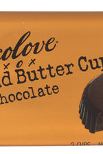CHOCOLOVE: Almond Butter Cups Dark Chocolate, 1.2 oz