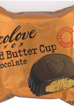CHOCOLOVE: Almond Butter Cups Dark Chocolate, 0.6 oz