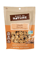 BACK TO NATURE: Maple Pecan Granola Clusters, 11 oz