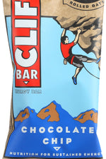 CLIF BAR: Chocolate Chip Energy Bar, 2.4 oz
