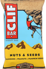 CLIF: Energy Bar Nuts & Seeds, Made With Organic Almonds, 2.4 oz
