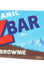 CLIF KID: Organic Zbar Chocolate Brownie, 1.27 oz