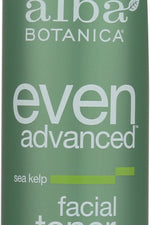 ALBA BOTANICA: Natural Even Advanced Facial Toner Sea Kelp, 6 oz