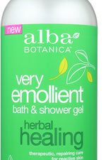 ALBA BOTANICA: Shower Gel Herbal Healing, 32 oz