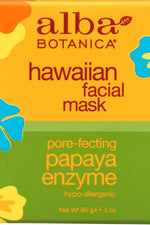 ALBA BOTANICA: Hawaiian Facial Mask Papaya Enzyme, 3 oz