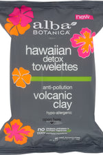 ALBA BOTANICA: Towelettes Detox Hawaiian, 30 pc