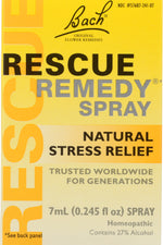 BACH ORIGINAL FLOWER REMEDIES: Rescue Remedy Spray, 0.245 oz