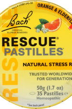BACH: Original Flower Remedies Rescue Remedy Pastilles, 1.7 oz