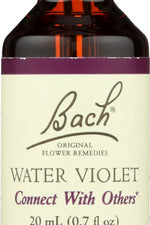 BACH ORIGINAL FLOWER REMEDIES: Water Violet, 0.7 oz