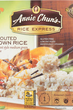 ANNIE CHUN'S: Rice Express Sprouted Brown Rice, 6.3 oz